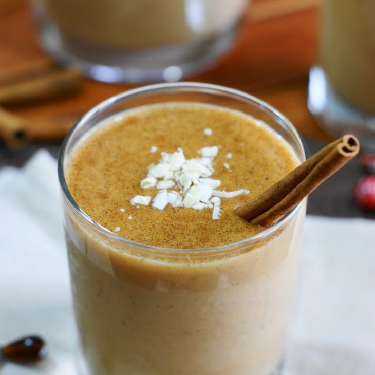 White Chocolate Pumpkin Nog Recipe