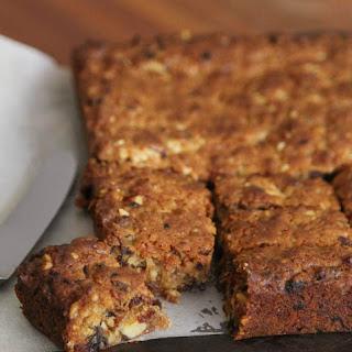 Walnut & Date Slice - A cake a Week