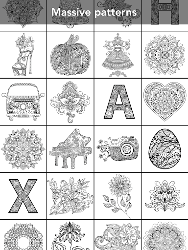 Mandala Coloring Book 3.1.4 screenshots 10