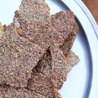 Nutty Seeded Crackers.