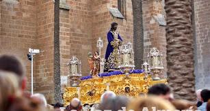 Jesús Cautivo de Medinaceli, en el Miércoles Santo de 2019.