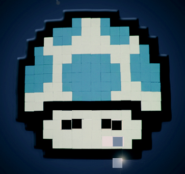 1Up Pixel Art