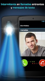 Alertas Flash LED: llamada/SMS Screenshot