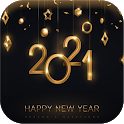 Happy New Year 2021 icon