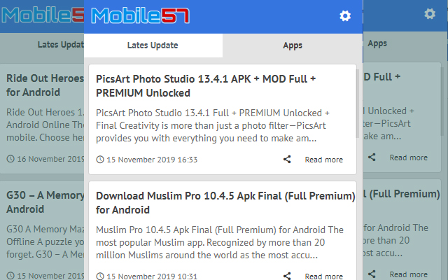 Mobile57 - Latest Update News