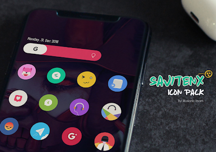 SAVITENX Icon Pack 2.1 Patched Latest APK Free Download 1