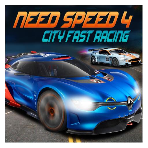 スピード4都市高速レーシングが必要です 賽車遊戲 LOGO-玩APPs