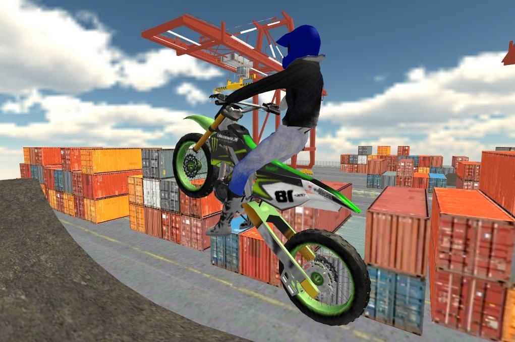 Motocross Motorbike Simulator- screenshot