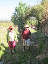 Photo: Caminando entre chacras III Subiendo desde el río a Yumina Paucarpata - Yumina - Sabandia