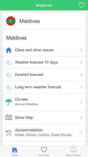馬爾代夫,天氣,旅行