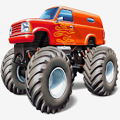 Monster truck Racing 4 in1