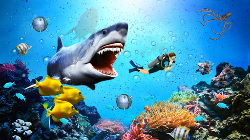 Angry Shark Attack - Wild Shark Game 2019 1.0.13 screenshots 14