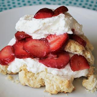 Second-Best Strawberry Shortcake