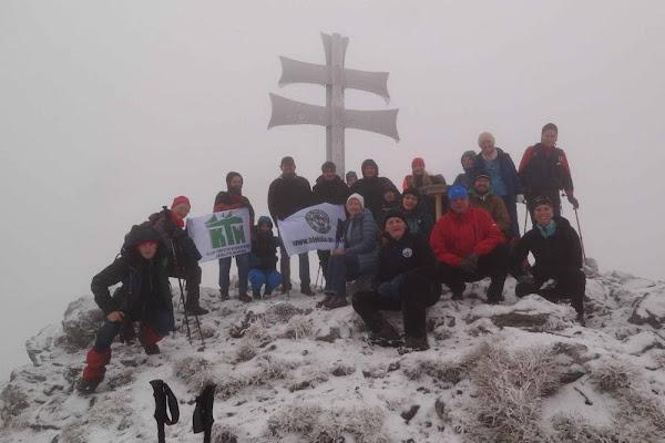 część grupy na szczycie Kľaka