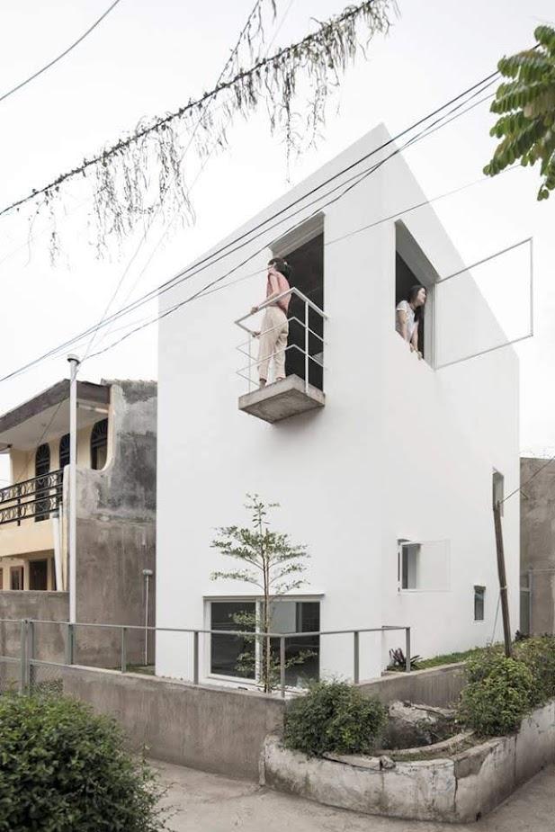 Bất Ngờ với ngôi nhà kiểu tối giản.