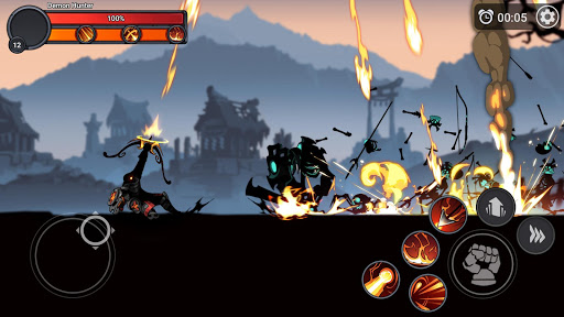 Stickman Master: League Of Shadow - Ninja Fight apkpoly screenshots 6