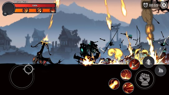 Stickman Master: League Of Shadow – Ninja Fight Apk Download For Android and Iphone 6