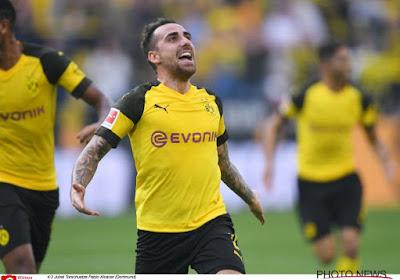 Officiel: Paco Alcacer quitte le Borussia Dortmund