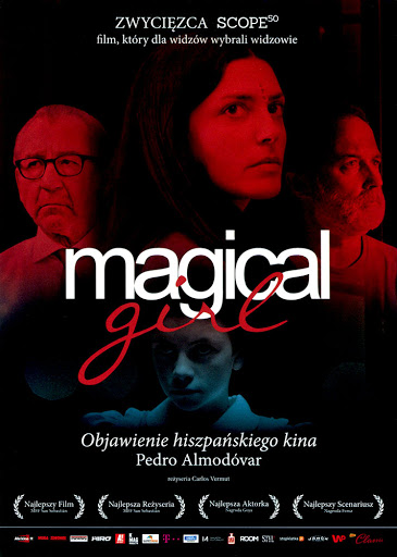 Przód ulotki filmu 'Magical Girl'