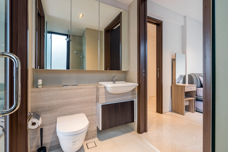 Bathroom at Pasir Ris Apartments