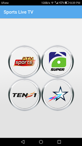 Sports Live TV 2.0 screenshots 1
