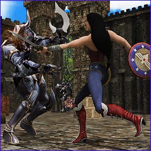 Wonder Girl Fighting : crime chase