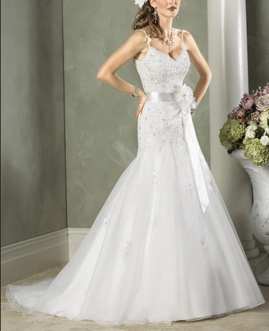 2nd.Strapless Wedding Gown