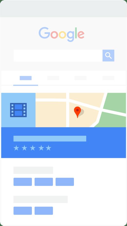 tampilan profil bisnis lokal di Google