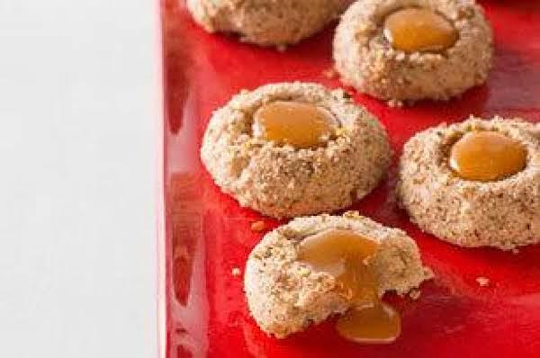 Caramel Filled Maple Pecan Cookies Recipe