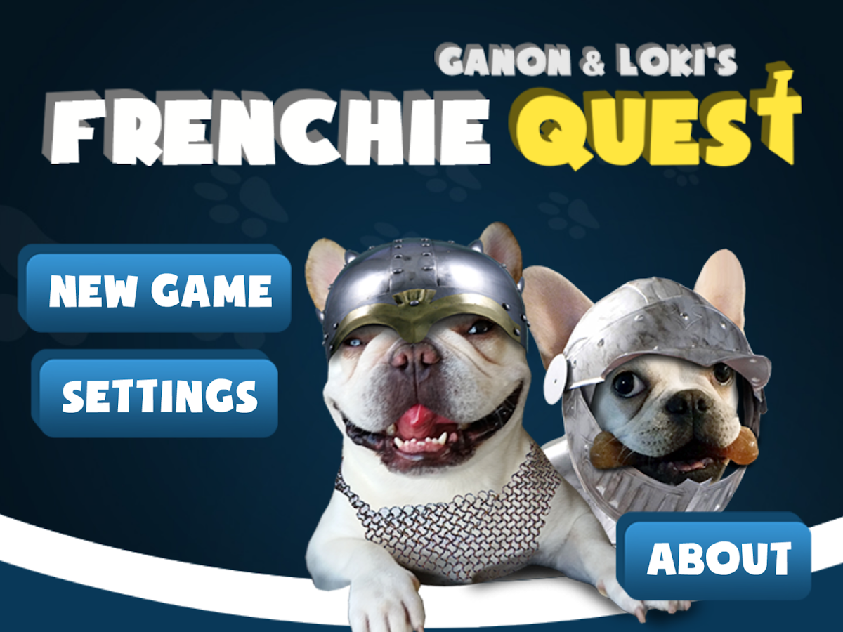 Frenchie Quest- screenshot