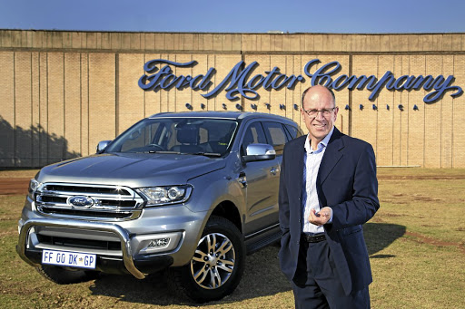 Ford Southern Africa MD Casper Kruger.      Picture: SUPPLIED