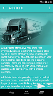 AllPoints Moving & Storage Inc- screenshot thumbnail
