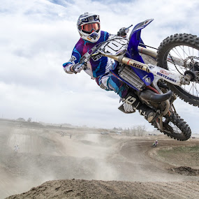 Stay low by Zachary Zygowicz - Sports & Fitness Motorsports ( yamaha, motocross, racing, motorcycle, dirtbikes )
