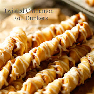 Twisted Cinnamon Roll Dunkers.