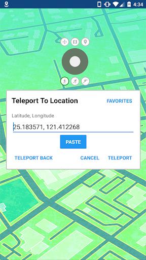 GPS JoyStick Fake GPS Location screenshot
