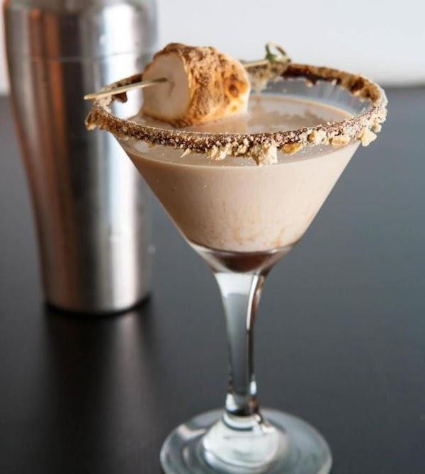 S'morange After Dinner Dessert Cocktail Recipe