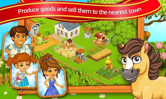 Farm Town: Cartoon Story