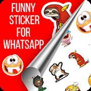 Funny emoji Stickers for Whatsapp-(WAStickerApps)