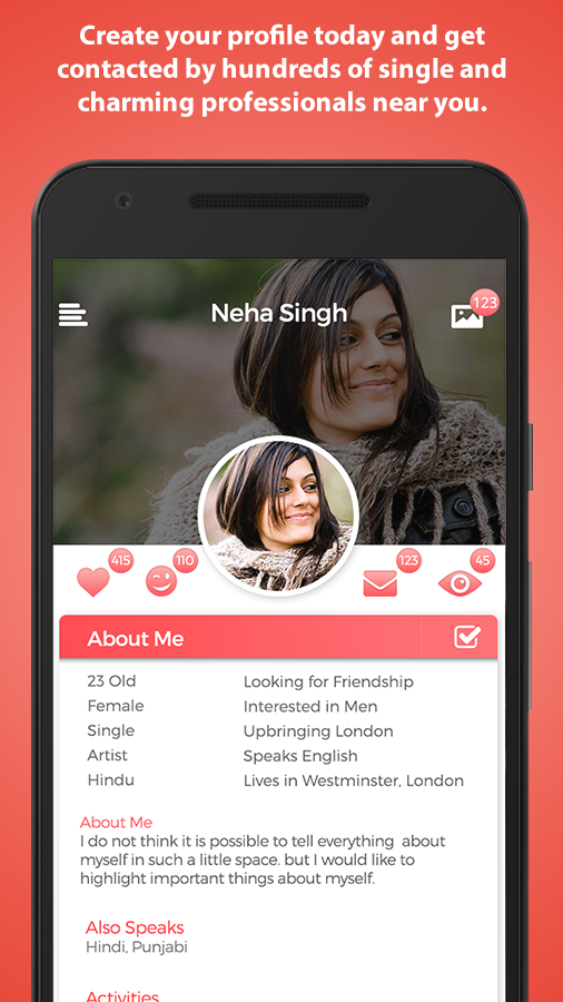 Nri ♥ Singles - Chat & Shaadi- screenshot