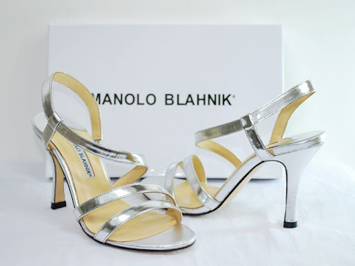 Manolo Blahnik ; Wedding Shoes