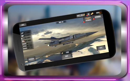 Fly F18 Jet Fighter Airplane Free 3D Game Attack - náhled