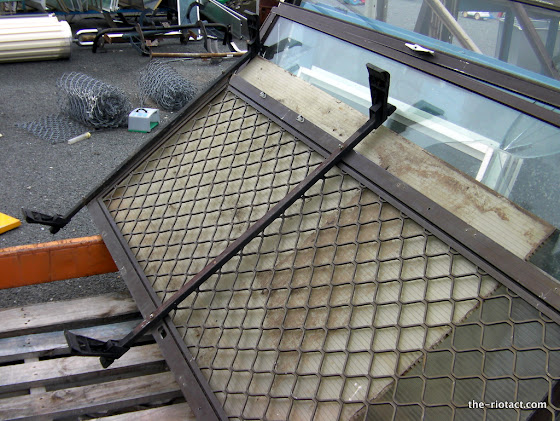 roof rack door