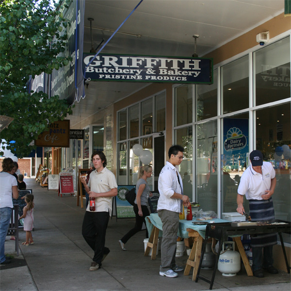 Griffith Streetscape