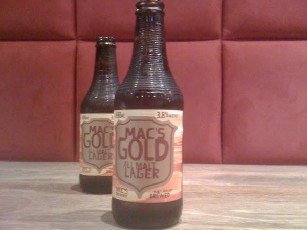 mac's gold all malt lager