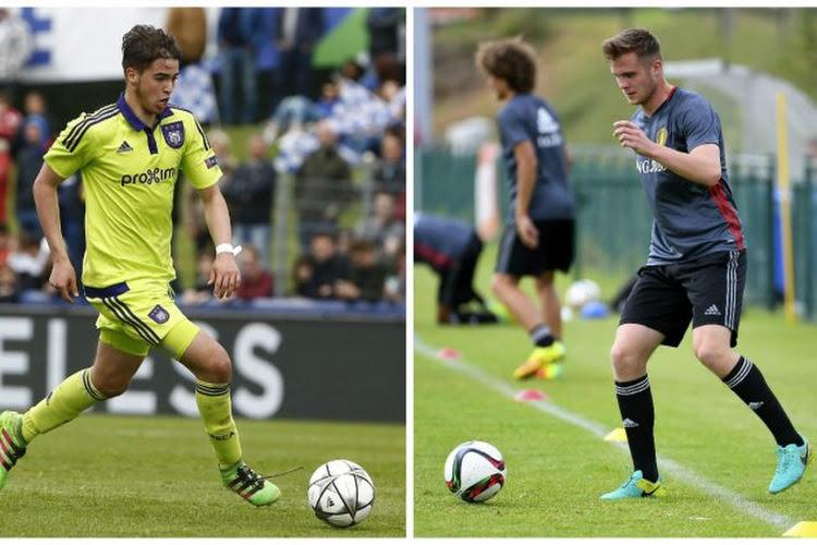 STVV ging afgelopen zomer shoppen bij AA Gent en Anderlecht, maar hoe ver staan beide youngsters ondertussen?