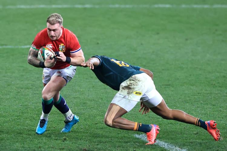 British & Irish Lions fullback Stuart Hogg denies accusations of biting in  clash against the Springboks