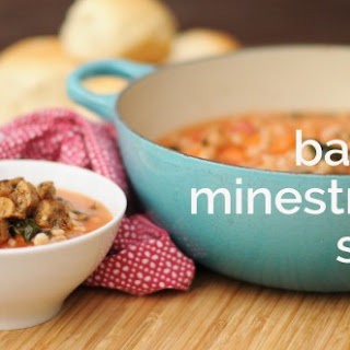 Barley Minestrone Soup for Christmas Eve