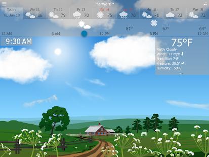 Precise Weather YoWindow Screenshot 9