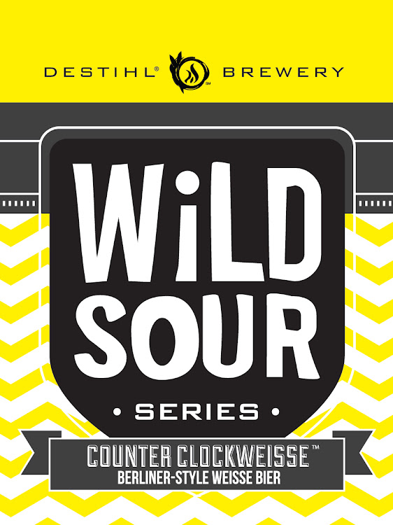 Logo of Destihl Brewery Wild Sour Series: Counter ClockWeisse