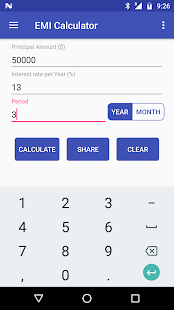 Financial Calculator - Fixed Deposit (FD), EMI - náhled
